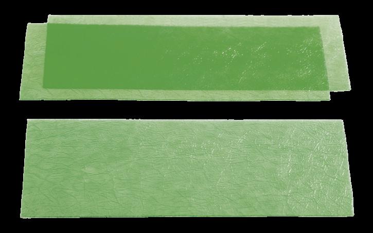 Strukturiertes Gusswachs - grob geadert 0,60 mm