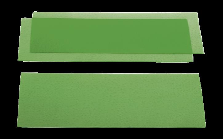 Strukturiertes Gusswachs - genarbt
