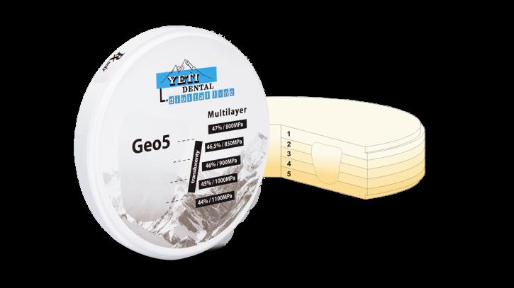 Geo5 Zirkonblank A3-18mm