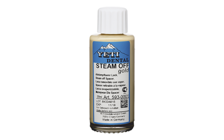 STEAM OFF gold (A3,5/B3/B4/D4)