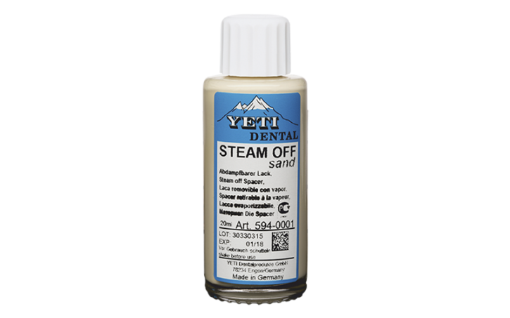 STEAM OFF Sand (A1/B1/B2/C1/D2) (6 Stk.)