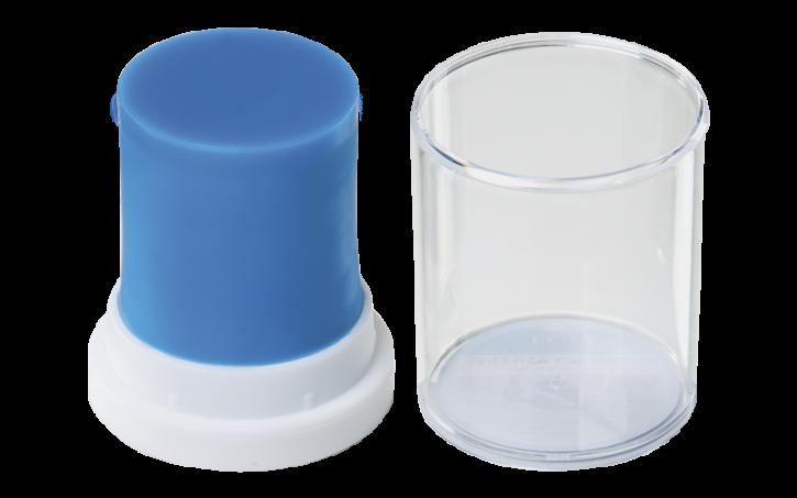 IQ Modellierwachs Compact, blau -ASH-FREE
