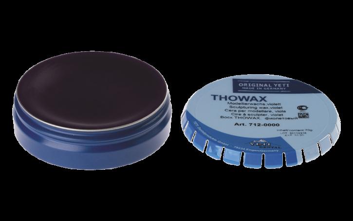 THOWAX Modellierwachs, violett