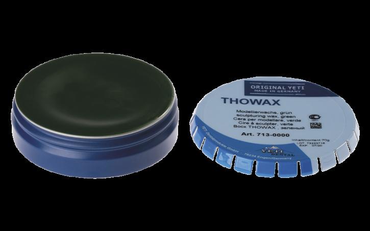 THOWAX Modellierwachs, grün