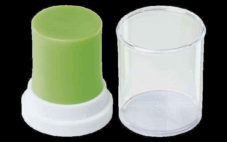 IQ Modellierwachs Compact, neon-grün -ASH-FREE