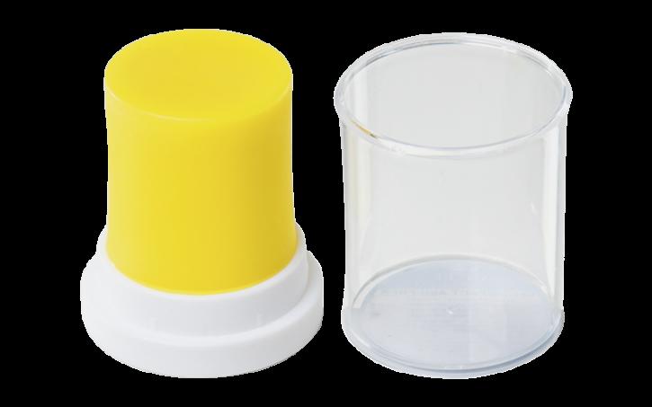 IQ Modellierwachs Compact, neon-gelb -ASH-FREE