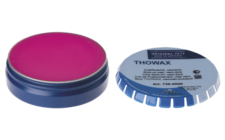 THOWAX STICK-ON-WACHS, neon-pink
